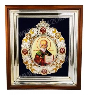 Икона настенная - святитель Николай Чудотворец