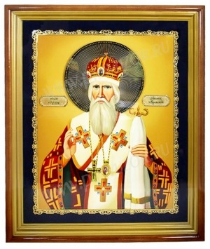 Икона настенная - святитель Кирилл Туровский