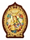 """Икона настольная  - Богородица """"Неувядаемый Цвет""""."""