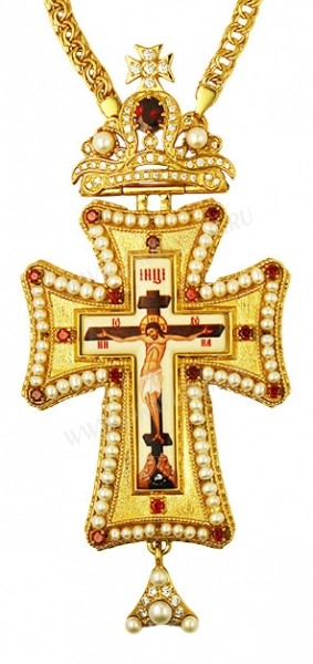 Крест наперсный с цепью - А283