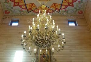 Паникадило пятиярусное- 53s (60 свечей)