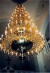 Семиярусное церковное паникадило (на 152 свечи)
