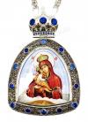 Панагия с образом Божией Матери Пачаевская - A506-2