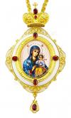 Панагия с образом Божией Матери Неувядаемый цвет - A1260-3