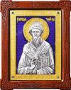 Икона: свт. Спиридон Тримифунтский - 102-7
