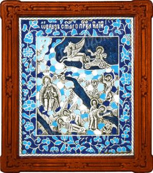 Икона Огненное восхождение св. пророка Илии - A108-3
