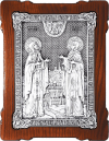Икона свв. преп. Петра и Февронии Муромских - A120-1