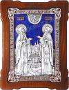 Икона свв. преп. Петра и Февронии Муромских - A120-3