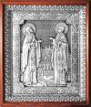 Икона свв. преп. Петра и Февронии Муромских - A122-1