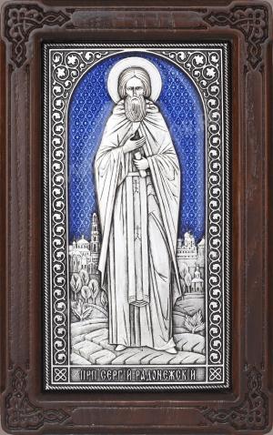 Икона: преп. Сергий Радонежский - A166-3