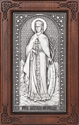 Икона: св. вмч. Екатерина - A170-1