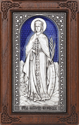 Икона: св. вмч. Екатерина - A170-3