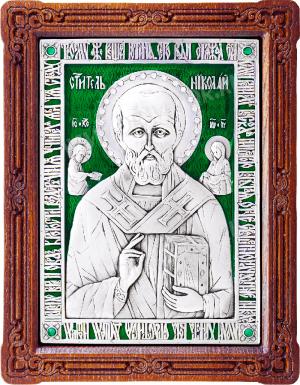 Икона: свт. Николай Чудотворец - A47-3