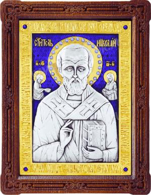 Икона: свт. Николай Чудотворец - A47-7