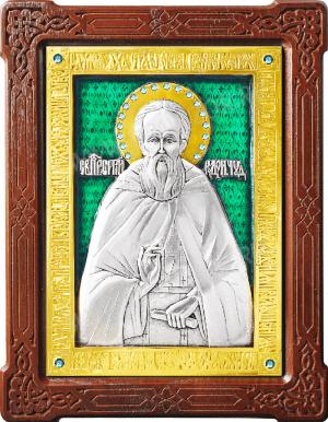 Икона: преп. Сергий Радонежский - A48-7