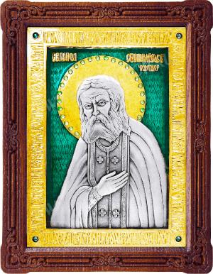 Икона: преп. Серафим Саровский- A49-7