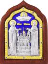 Икона свв. преп. Петра и Февронии Муромских - A67-7