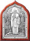 Икона: преп. Серафим Вырицкий - A93-2