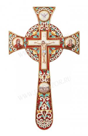 Крест напрестольный - Мальтийский-4