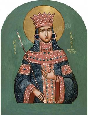 Икона: Преп. Елена Королева Сербская - ES44