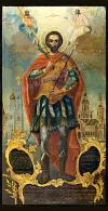 Икона: Св. мученик Иоанн Воин - IV01