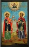 Икона: Свв. мучники и безсребренники Косма и Дамиан - KD33