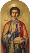 Икона: Св. Великомученик и целитель Пантелеимон - P39