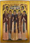 Икона: Собор Псково-Печерских Святых - SPPS55