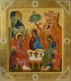 Икона: Пресвятая Троица - В (1x0 см)