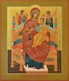 Икона: Образ Пресв. Богородицы Всецарица - В (1x0 см)